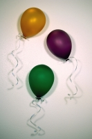 Balloons-Gold-Purple-Green-Installation