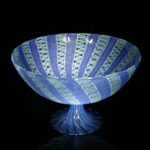 Blue-Mint-Cane-Footed-Bowl