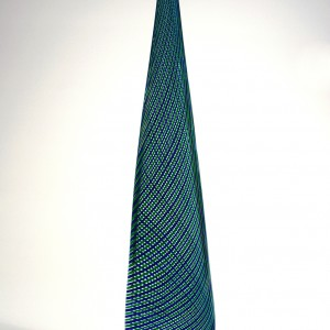 Blue-and-Green-Twisted-Cane-Vase