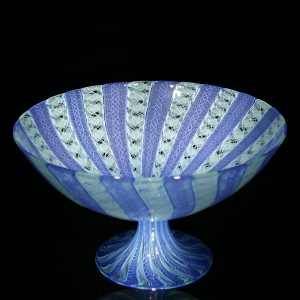 Blue-Mint-Zanfirico-Cane-Footed-Bowl