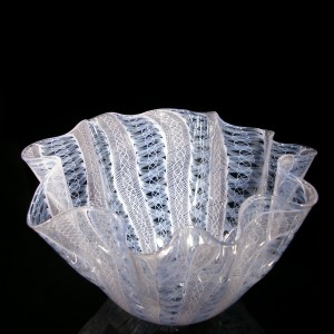 fluted-vase-blue-and-pink-handkerchief