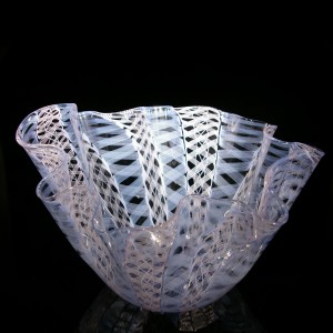 fluted-vase-pink-and-blue-handkerchief
