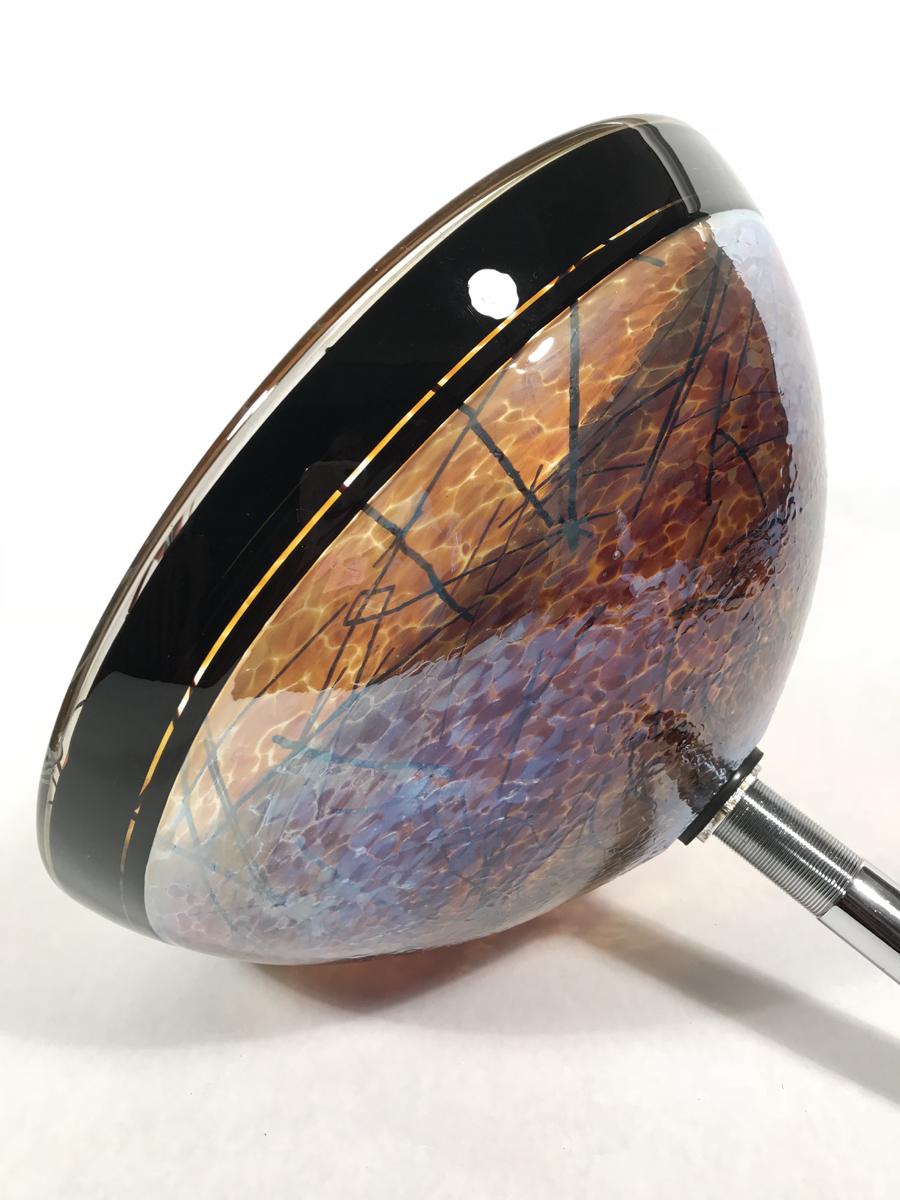 Vessel Glass Sinks Hand Made By Rubino Glass Inc